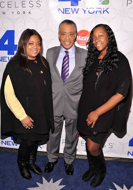 Reverened Al Sharpton Rockefeller Tree Lighting
