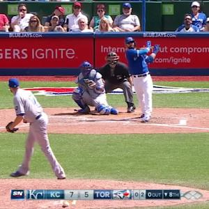 Bautista's second homer