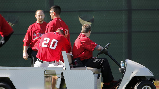 Angels' Mulder says Achilles injury freak accident