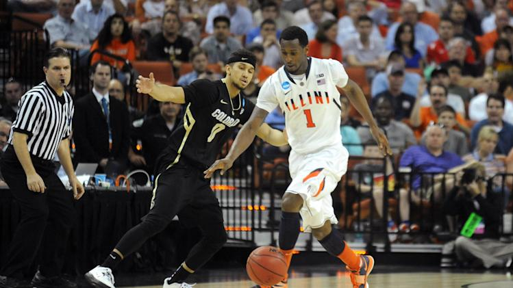 NCAA Basketball: NCAA Tournament-Colorado vs Illinois