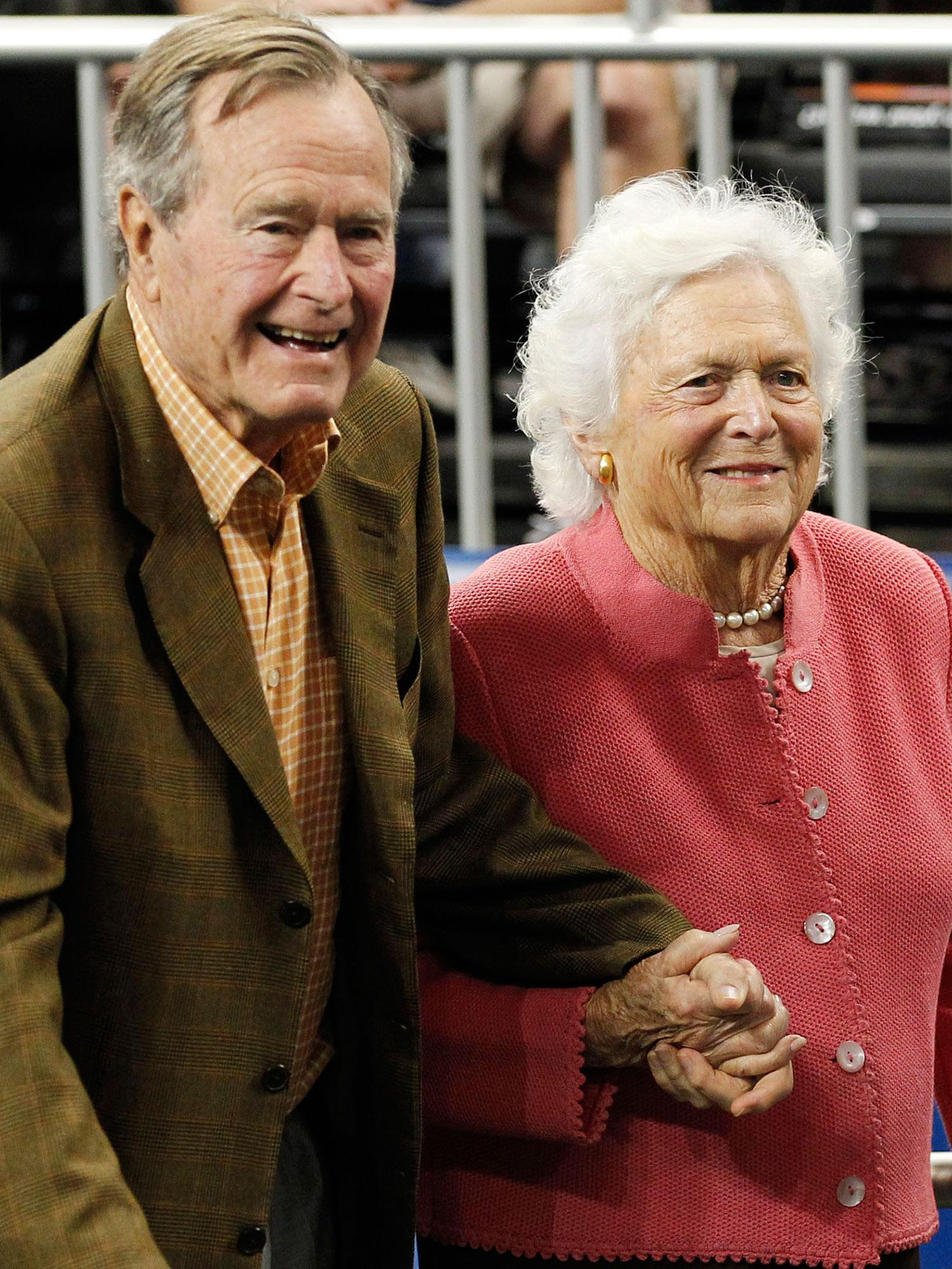 Barbara Bush Admitted to Hospital as President George H.W. Bush Remains in ICU