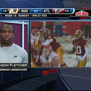 Washington Redskins linebacker London Fletcher: Players respect decision