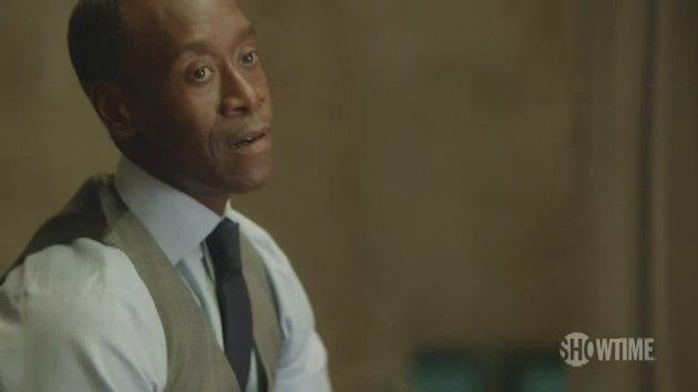 Don Cheadle discusses Marty's relationship with Roscoe.