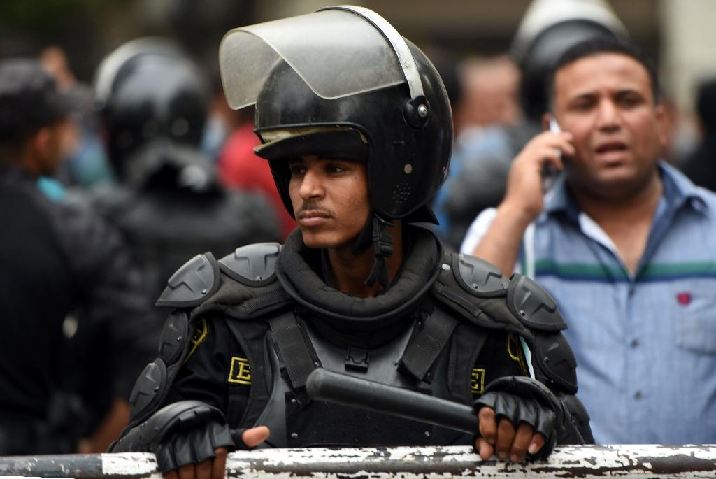 Egypt's court rules part of protest law unconstitutional