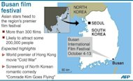 Graphic on Asia's premier film festival, opening in the South Korean city of Busan on Thursday