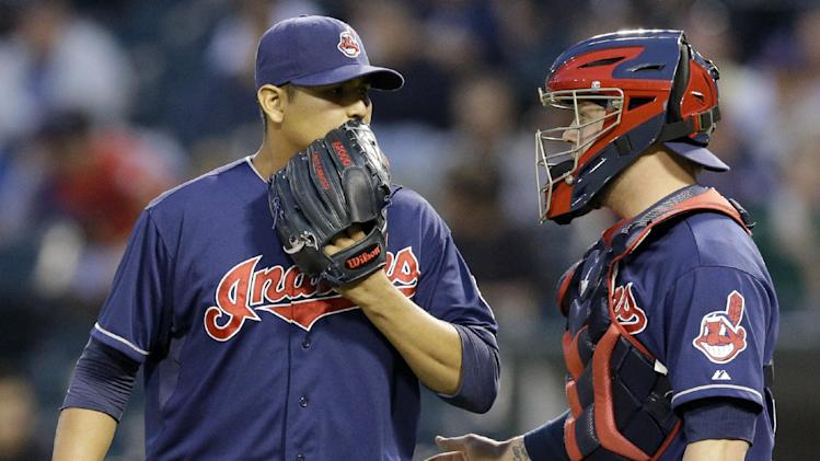 Carrasco helps Indians beat White Sox 3-2