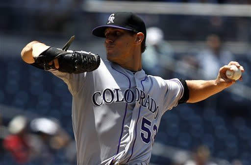 Friedrich wins debut as Rockies beat Padres 6-2