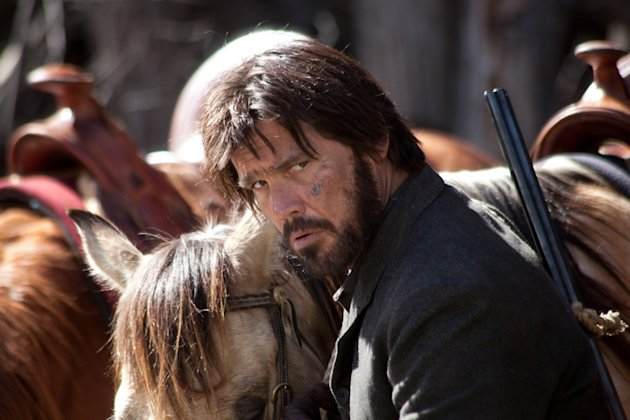 Josh Brolin True Grit Production Stills Paramount 2010