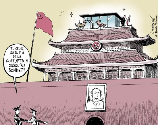 Scandale de corruption en Chine