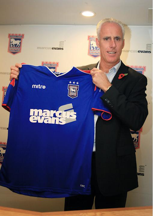 New Ipswich town manager Mick McCarthy is unveiled at Portman Road