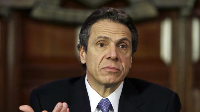 APNewsBreak: NY Gov. Andrew Cuomo has book deal