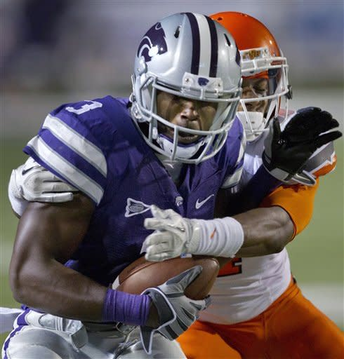 Klein hurt while leading No. 3 K-State to win