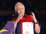 Najib alleges Pakatan behind bid to replace national flag