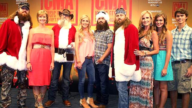 'Duck Dynasty' Family to Release Christmas Album