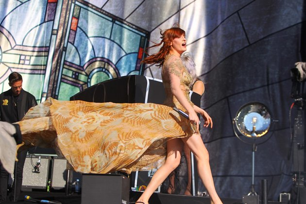 Florence Welch, Hackney Weekend