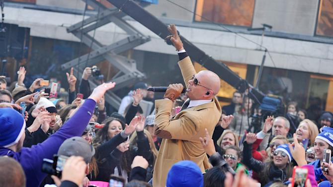 "Pitbull Performs On NBC's ""Today"" Annual Thanksgiving Week Of Concerts"