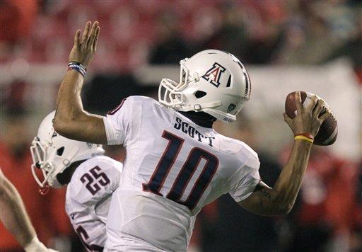 Carey runs for 204 yards; Arizona tops Utah 34-24