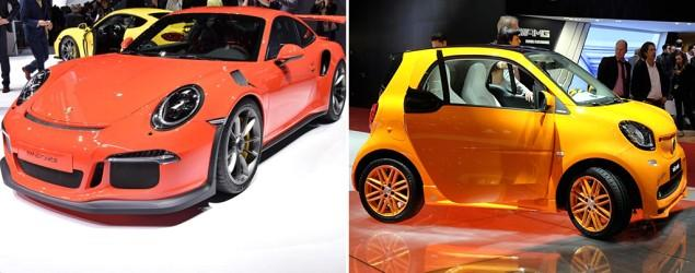 Highs, lows from the wild 2015 Geneva Motor Show