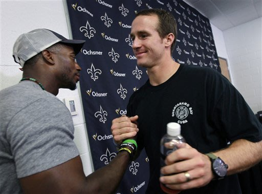 Brees: contract won't change him, on field or off