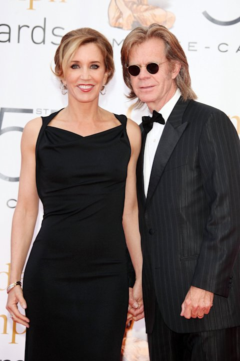 Felicity Huffman and William H. Macy - Daughter Georgia
