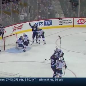 Bryan Little Goal on Jake Allen (09:04/1st)