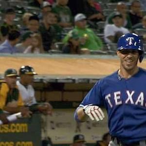 Arencibia's three-run home run