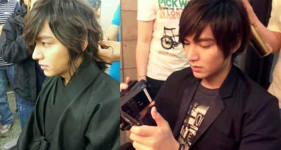 Lee Min Ho′s Hair Piece for ′Faith′ Takes Five Hours