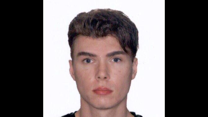 """This image provided by Interpol shows an undated photo of Luka Rocco Magnotta, 29 years-old, who is accused of videotaping a gruesome murder before posting it to the internet will be charged with threatening Canada's prime minister after mailing a severed foot to his Conservative party headquarters, police said Saturday June 2, 2012. Magnotta is wanted for first-degree murder, defiling a corpse and using the mail system for delivering """"obscene, indecent, immoral or scurrilous"""" material. Montreal Police Cmdr. Ian Lafreniere said they still believe Magnotta, 29, is in France. (AP Photo/Interpol)"""