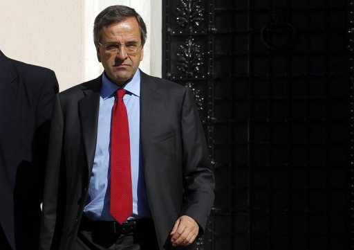 <p>Greek PM Antonis Samaras (pictured) has been trying to overcome opposition from his socialist and moderate leftist parties allies in government, who have warned against imposing sweeping new cuts on a nation already slogging through a third year of austerity.</p>