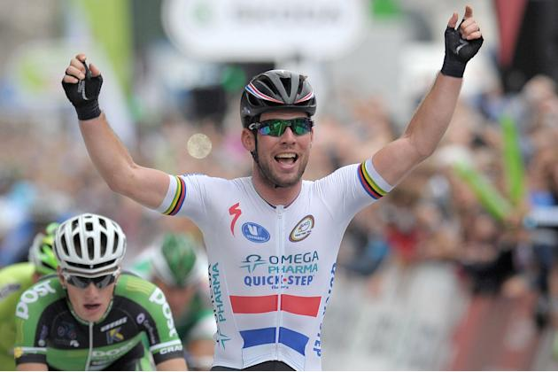 Cycling - Mark Cavendish Filer