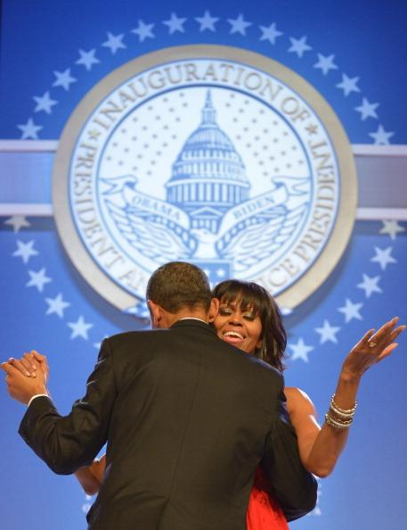 President Obama and Michelle Obama Inaugural Ball Dance (Video)