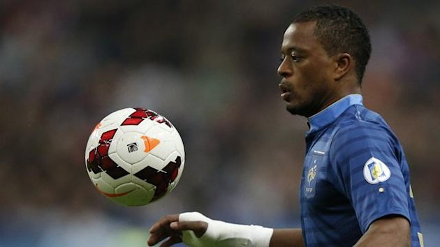 France defender Patrice Evra (Reuters)