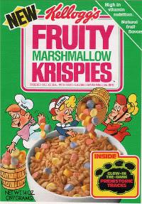 Fruit Marshmallow Krispies