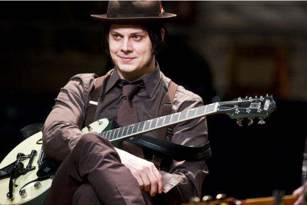 Jack White It Might Get Loud Production Stills Sony Pictures Classics 2009
