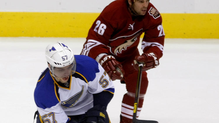 NHL: St. Louis Blues at Phoenix Coyotes