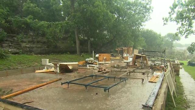 Governor says deadly flooding is worst ever seen in Texas area