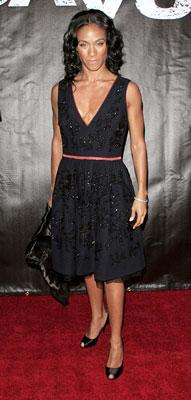 Jada Pinkett-Smith at the New York premiere of Touchstone Pictures' Deja Vu