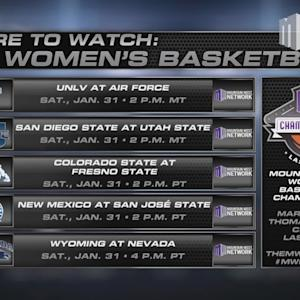 Where To Watch MW Women's Basketball 1/31/15