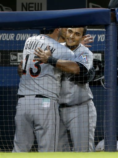 Braves back in playoffs with 4-3 win over Marlins