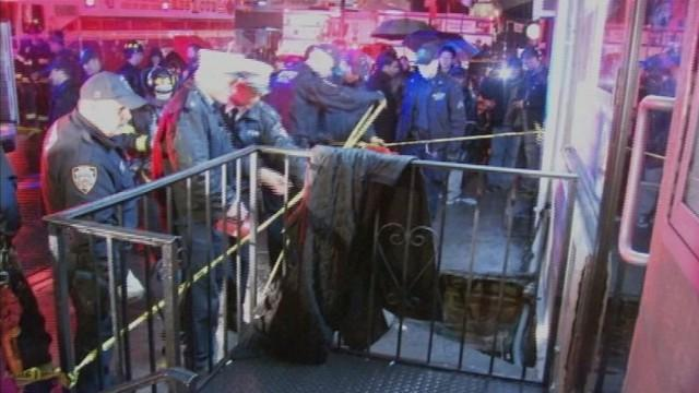 Woman Falls Through Sidewalk on New York City Streets