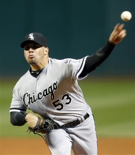 White Sox eliminated after 11-0 win over Indians