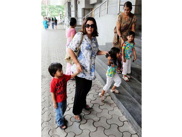 Image courtesy : iDiva.comNames: Anya, Diva and Czar (triplets) Parents: Farah Khan and Shirish Kunder Meaning: Diva is derived from Latin and means divine whereas Anya means grace in Russian. Czar on