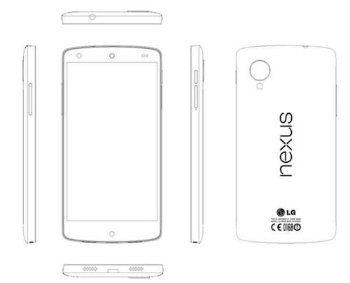 More Nexus 5 details break cover in leaked LG service manual