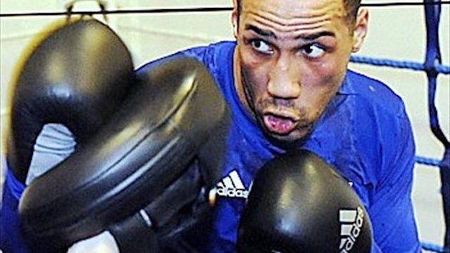 James DeGale keeps busy at Glow, Bluewater on November 16
