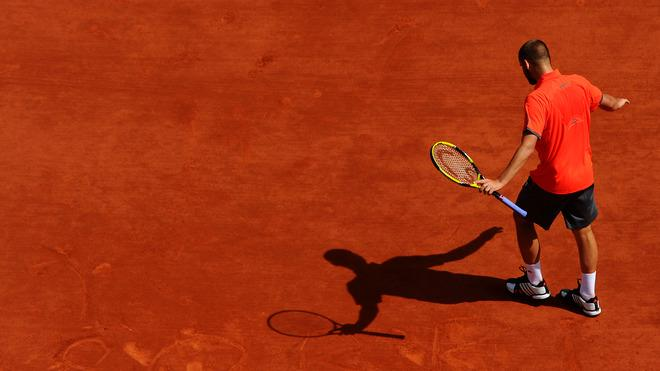 Mikhail Youzhny Of Russia Writes Getty Images