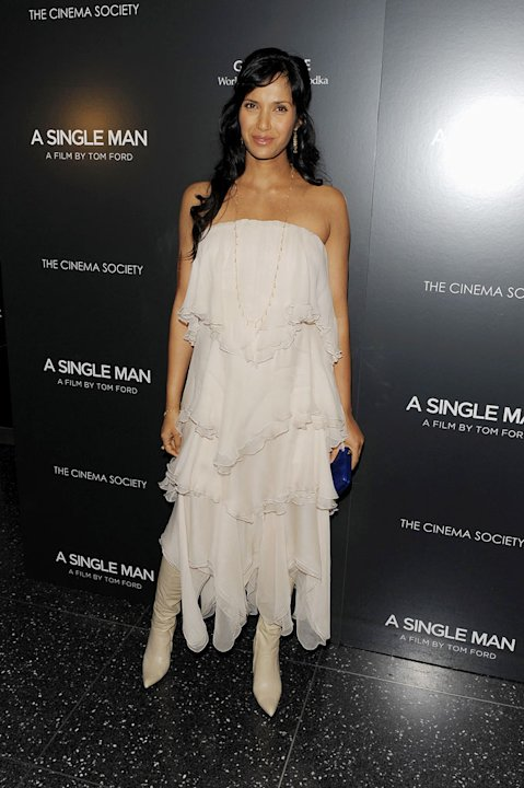 Padma Lakshmi attends a special screening of &quot;A Single Man&quot; hosted by The Cinema Society and Bing at MOMA on December 6, 2009 in New York City. 