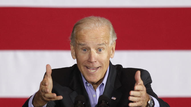 Biden: Romney changed his position on tax cut