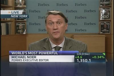 World's most powerful people: Forbes