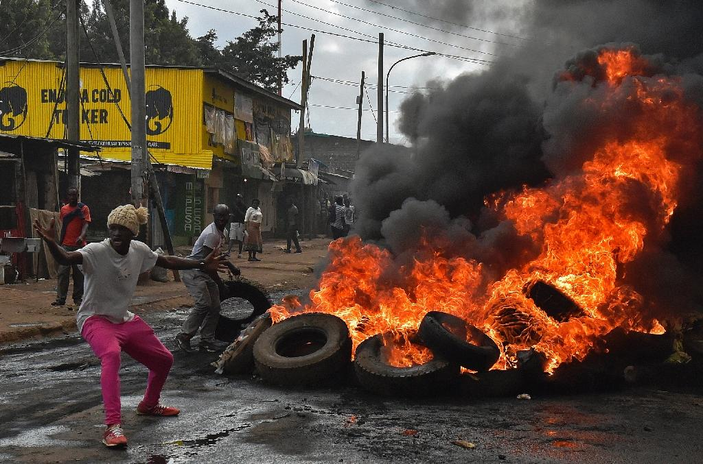 At least one killed in Kenya protests