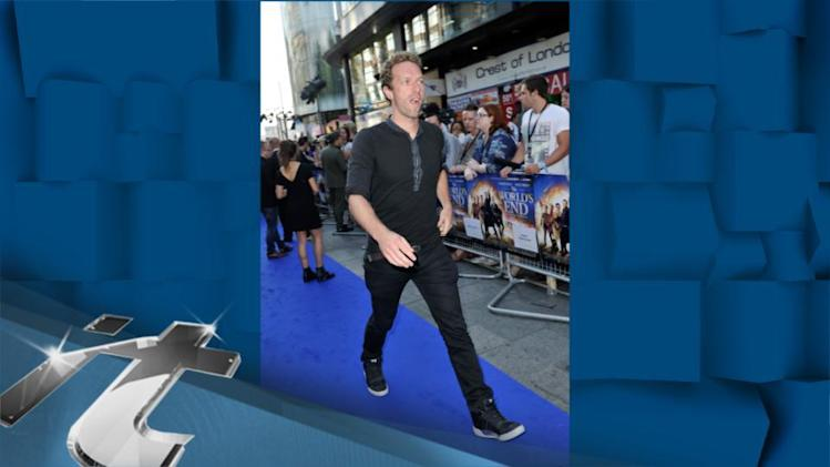 Music News Pop: Chris Martin Captured in Candid Moment With Kids Apple and Moses